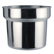 Bain Marie Pot Stainless Steel 4.2 Litre