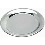 Round Tip Tray, 14cm diameter, Stainless Steel