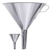 Funnel 18/10 Stainless Steel 1Ltr capacity 19cm