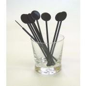 Drink Stirrer Disc head Black Pack of 250