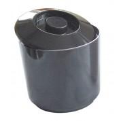 Ice Bucket Round Black 4 Litre