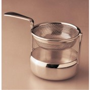 Silver Plated Tea Strainer Swing
