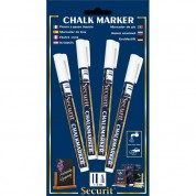 Liquid Chalk Markers 4 Pack White Small