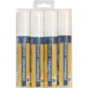 Liquid Chalk Markers 4 Pack White Large
