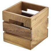 Acacia Wood Box/Riser 15 x 15 x 15cm
