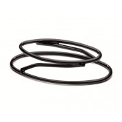 Rubber Pedestal Oval Stand 6.3cm