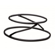 Rubber Pedestal Oval Stand 10.8cm