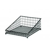 Grand Master Collection Black Angled Rectangular Basket 38 x 49.5cm