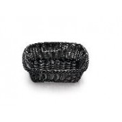 Handwoven Ridal Collection Black Rectangular Basket 29 x 21.5 x 9cm