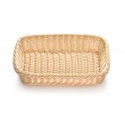 Handwoven Ridal Collection Natural Rectangular Basket 28.5 x 21.5 x 9cm
