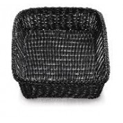 Handwoven Ridal Collection Black Rectangular Basket 48 x 35.5 x 10cm