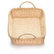 Handwoven Ridal Collection Natural Rectangular Basket 48 x 35 x 10cm