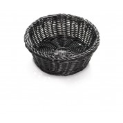 Handwoven Ridal Collection Black Round Basket 30 x 5cm