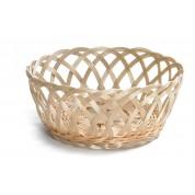 Open Weave Round Basket 23 x 8cm