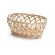 Open Weave Oval Basket 23.5 x 17.75 x 8cm