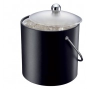 Ice Bucket Black Insulated 3 Litres