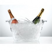 Oval Nite Club Champagne Cooler Acrylic 42 x 28 x 23cm