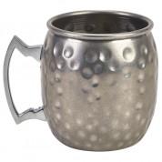 Barrel Vintage Mug Hammered 40cl