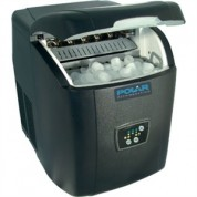 Ice Maker table top, Manual fill. 10kg output per 24 hours.