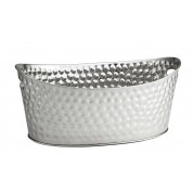 Oval Beverage Tub Single Walled 52 x 34 x 22cm Stainless Steel