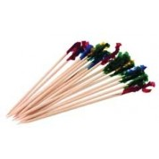 Cocktail Pick Coloured Cello. Assorted (Pack of 1000) 10cm