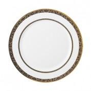 Venice Plate, Narrow Rim + Band at Shoulder, 25.4cm