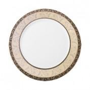 Venice Plate, Full Rim Deco, 32cm