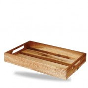 Churchill Buffetscape Large Wooden Crate 38 x 24 x 4.8cm