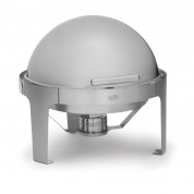 Fuel Fired Chafing Dish Round Roll Top Chafing Unit 34cm 5.7 Litre