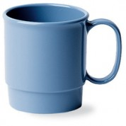 Camwear Polycarbonate Stacking Cup Slate Blue 23.9cl