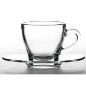 Ischia Cappuccino Cup Glass 18cl