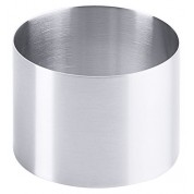 Mousse Ring Satin Finish Stainless Steel 8 x 6cm