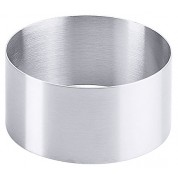 Mousse Ring Satin Finish Stainless Steel 10 x 5cm