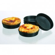Matfer Quiche Mould Exoglass 10x2cm Pack of 12