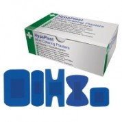 Blue Detectable Plasters Mixed 5 Type 100 Per Box