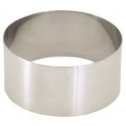 Mousse Ring 18/10 S/St, mirror polished, D:7.3cm, H:4cm