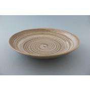 Oriental Range Plate 24cm Oatmeal