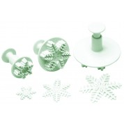 Matfer 3 Plunger Cutters Snowflake