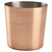 Serving Cup Plain Copper Plated 8.5 x 8.5cm 40cl