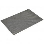 Placemat Silver-Gold PVC 45 x 30cm