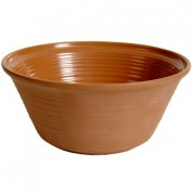 Terracotta Matt Melamine Olaria Bowl 31 x 13cm
