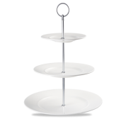 Churchill Alchemy Plater Towers Three Tier Plate Tower 38 x 28cm