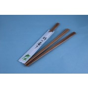 Oriental Range Chopsticks Disposable. Bamboo. No Sleeves 24cm