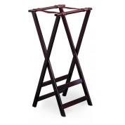 Tray Stand (Double Bar) Mahogany 96.5cm